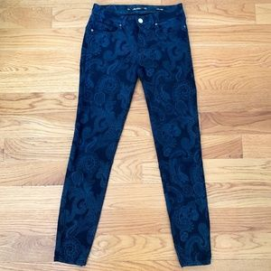 Zara Leara Paisley Print Jeans